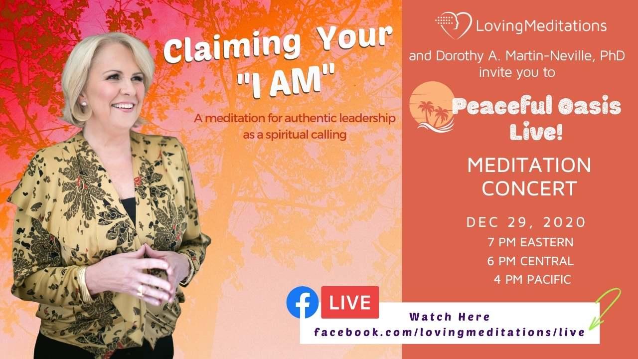 "Claiming Your ""I AM"" – Dorothy Martin-Neville (12/29/2020)"
