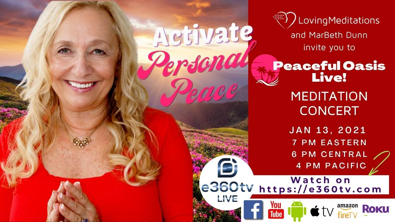Activate Personal Peace – MarBeth Dunn (01/13/2021)